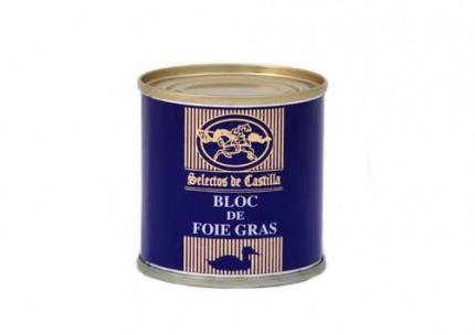 Bloc foie gras lata 95 gr.