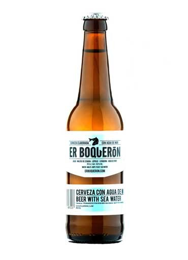 """Cerveza artesana """"Er Boquerón"""" 33 cl."""