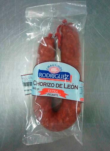 Chorizo herradura León picante Rodríguez