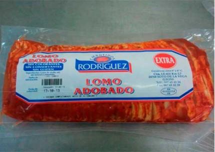 Lomo adobado extra loncheado Rodríguez.