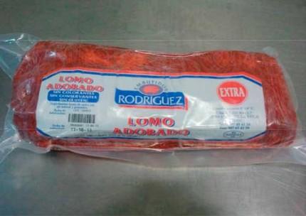 Lomo adobado extra natural 1/2 al vacío Rodríguez.