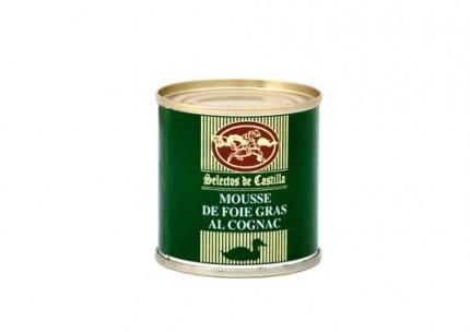 Mousse foie gras al coñac 95gr.