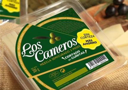 Cuñas loncheadas de queso de oveja 250gr.