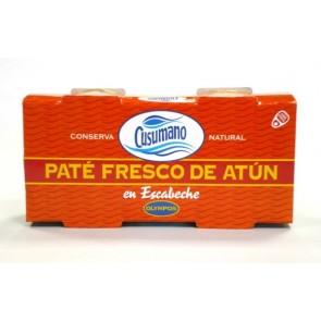 Paté de atún en escabeche Pack x 2