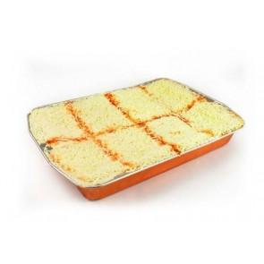 Lasaña boloñesa con queso de 3 Kg.