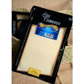"""Lonchas queso barra bandeja 1kg """"Los Cameros"""""""
