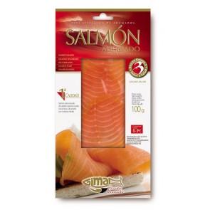 Sobre de salmón ahumado 100 grs.