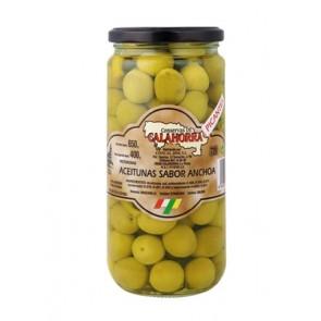 Aceituna sabor anchoa Gig.400grs.