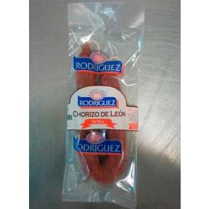 """Chorizo de León ext.dulce individual """"Rodríguez"""""""