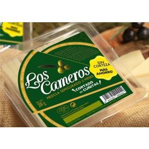 Cuñas de queso semicurado precortadas  250gr.