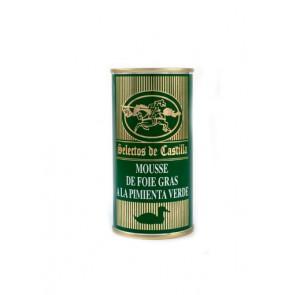 Mousse foie gras de pimienta verde 800gr.
