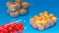 bandejas frutas y verduras