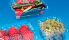 tarrinas para verduras y frutas